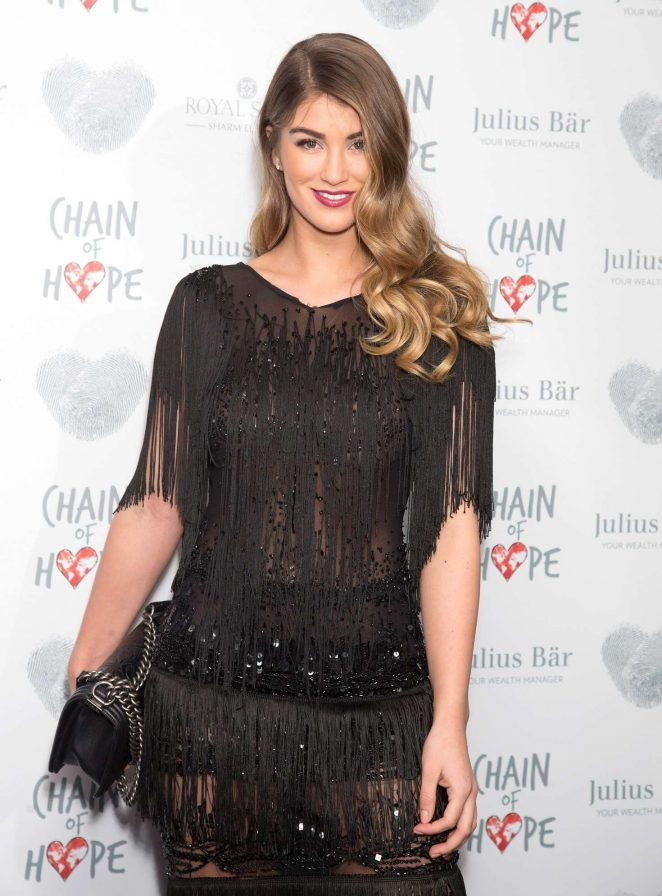 Amy Willerton - Chain Of Hope Annual Gala Ball 2016 in London