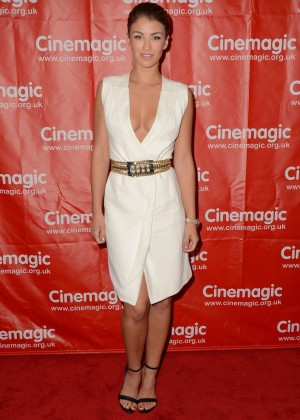 Amy Willerton - Cinemagic Sneak Preview of 'Delicate Things' in Santa Monica
