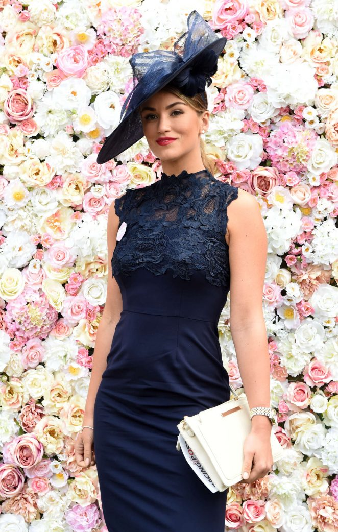 Amy Willerton - Day 1 of Royal Ascot at Ascot Racecourse in Ascot