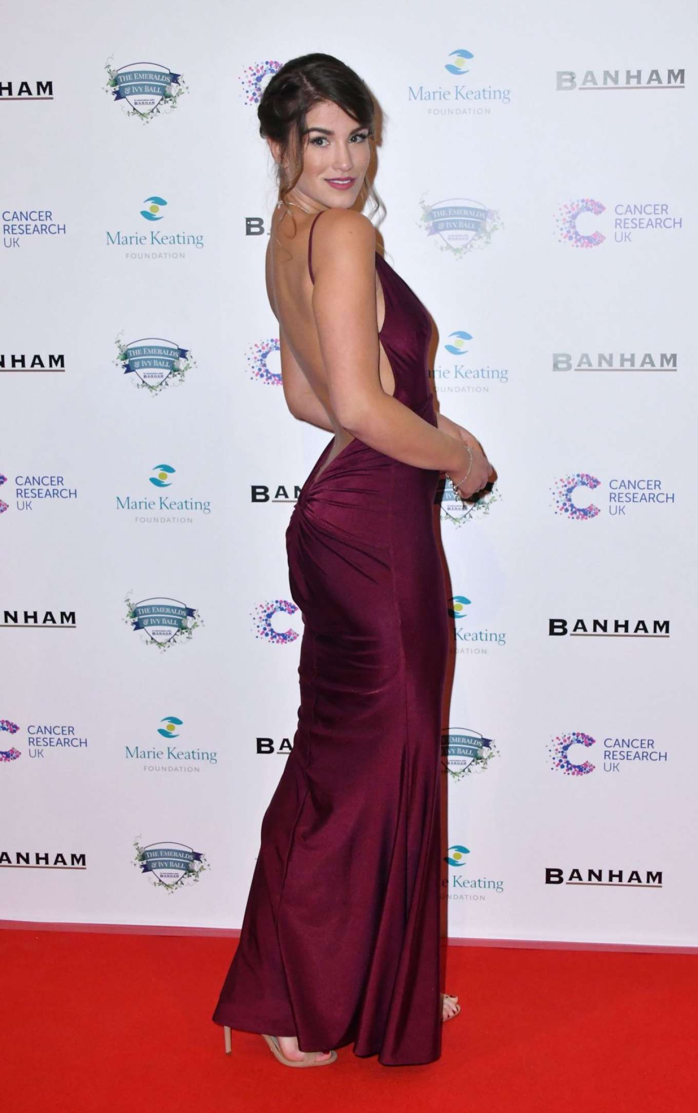 Amy Willerton 2017 : Amy Willerton: Emeralds and Ivy Ball 2017 -04
