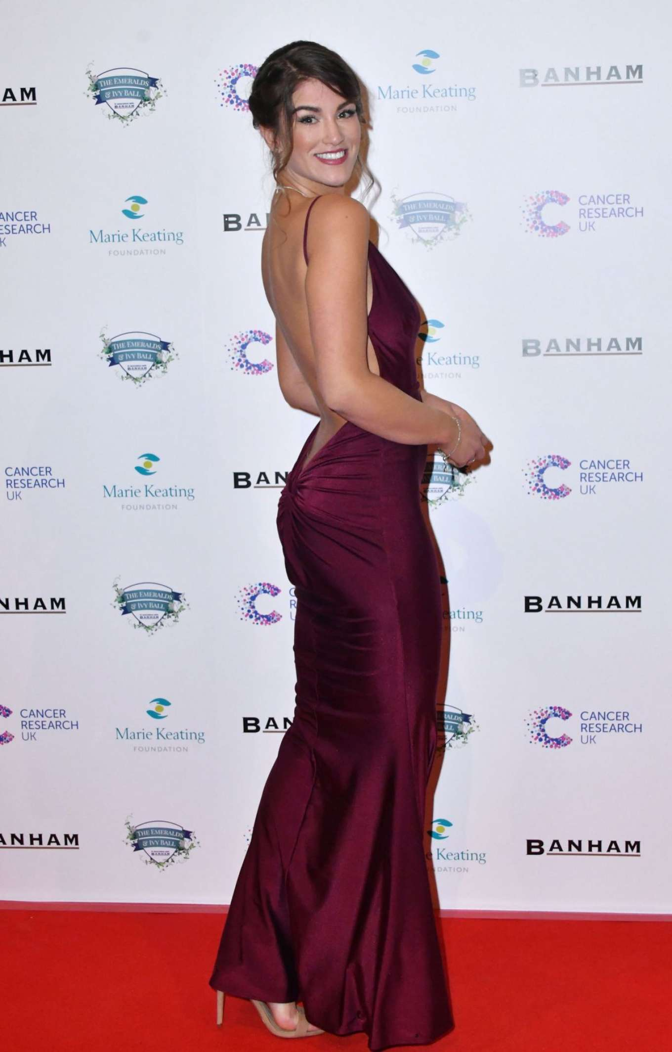 Amy Willerton 2017 : Amy Willerton: Emeralds and Ivy Ball 2017 -05