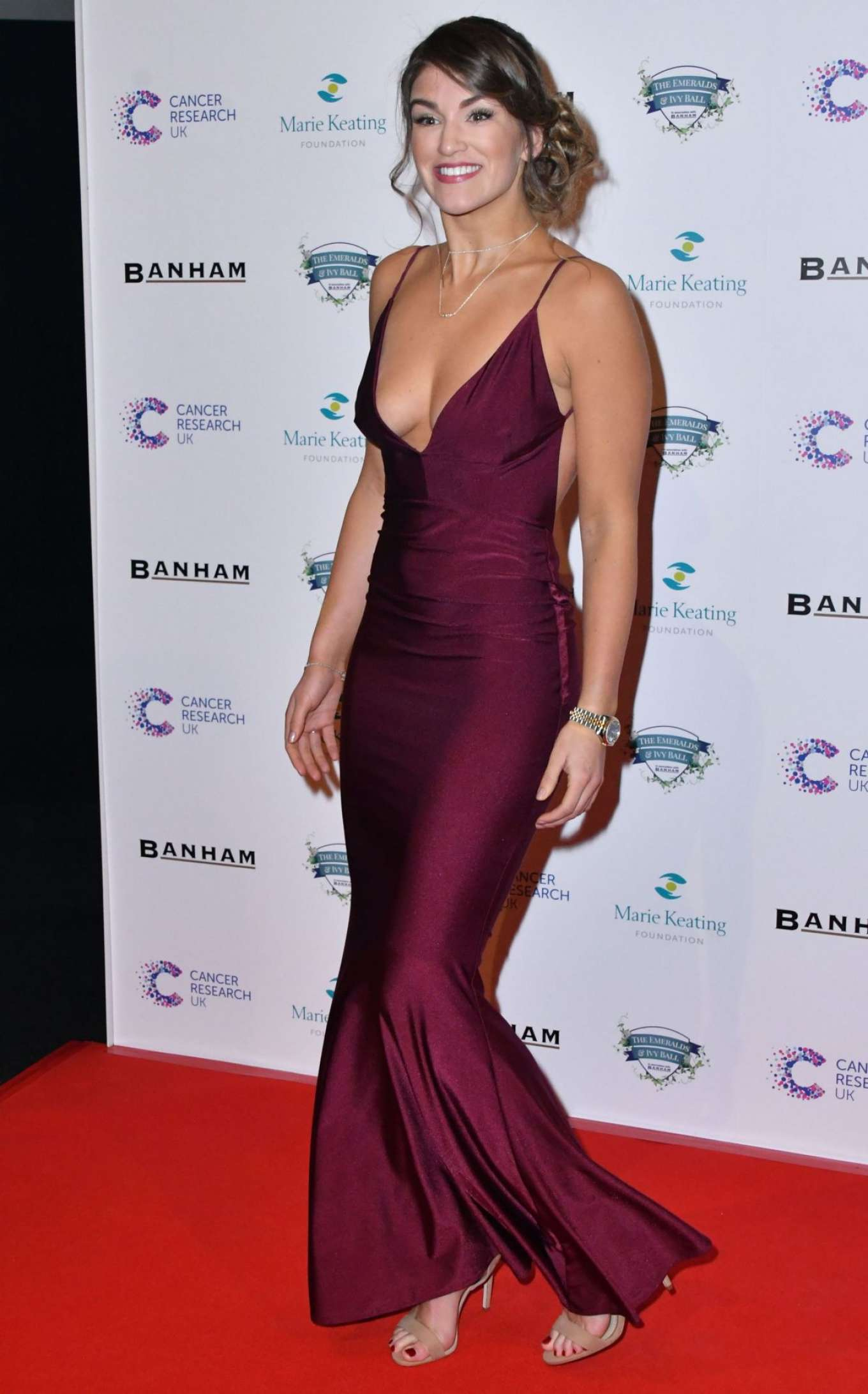 Amy Willerton 2017 : Amy Willerton: Emeralds and Ivy Ball 2017 -10