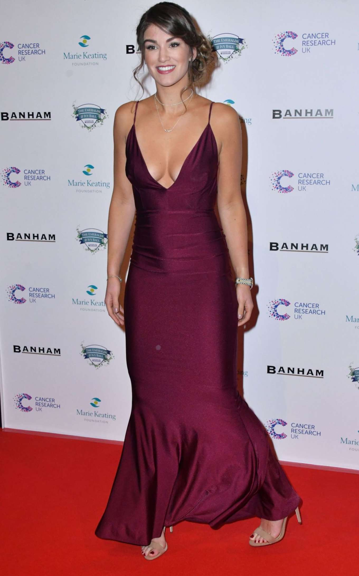 Amy Willerton 2017 : Amy Willerton: Emeralds and Ivy Ball 2017 -11