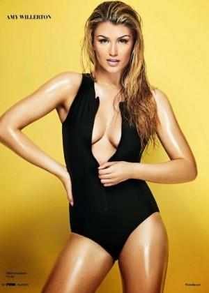 Amy Willerton - FHM India Magazine (April 2015)