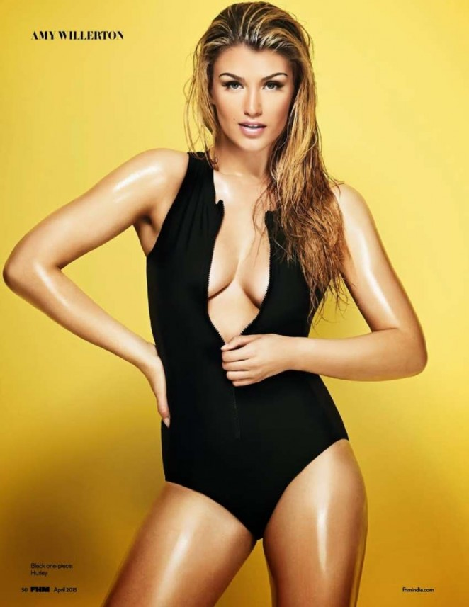 Amy Willerton – FHM India Magazine (April 2015)