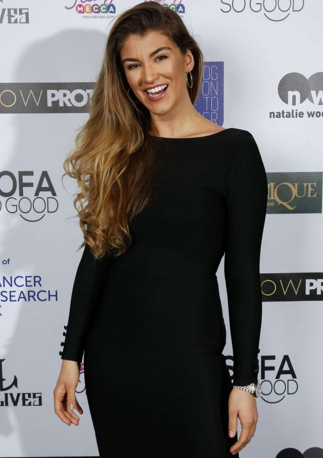 Amy Willerton – James Inghams Jog on to Cancer Event in London
