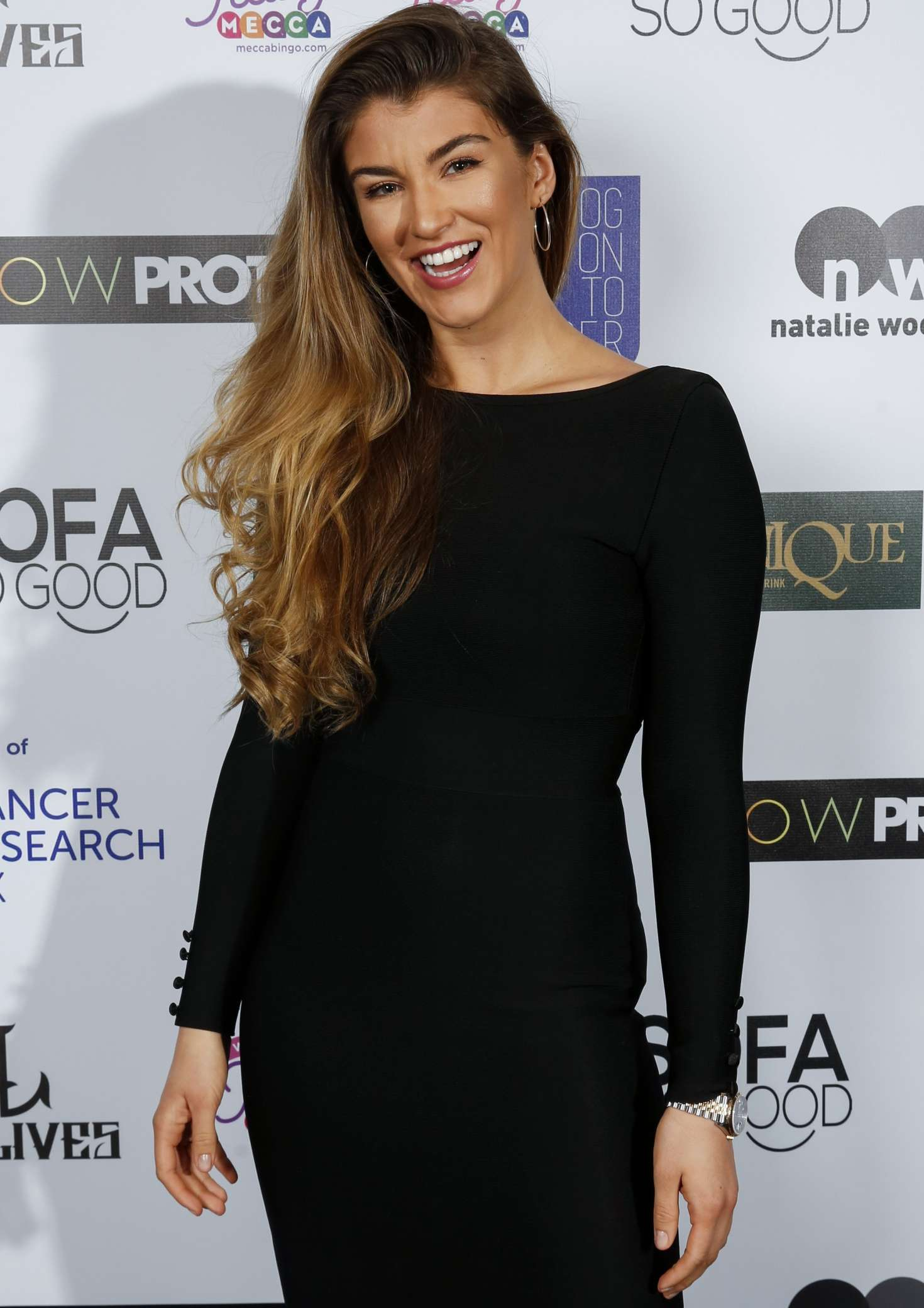 Amy Willerton - James Inghams Jog on to Cancer Event in London