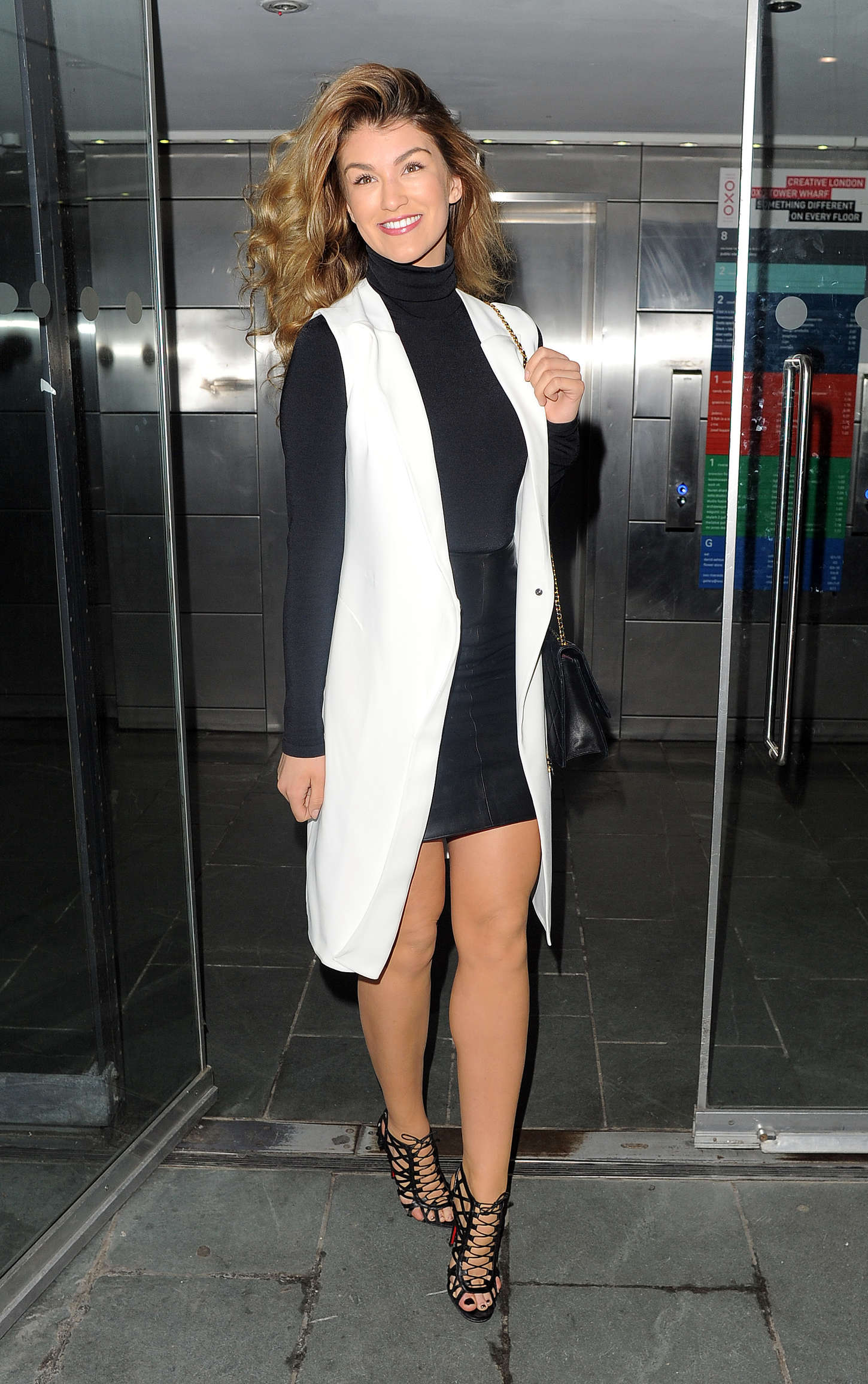 Amy Willerton - John Frieda Launch Party in London