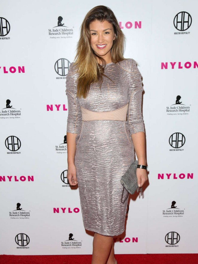 Amy Willerton – NYLON Magazine's Muses And Music Party in LA