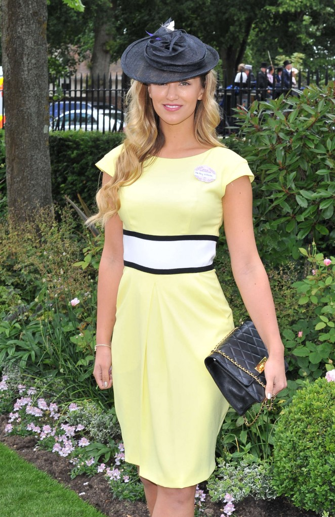 Amy Willerton - Royal Ascot 2015 Ladies Day in Berkshire