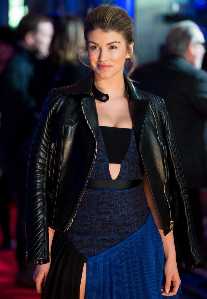 "Amy Willerton- ""The Gunman"" Premiere in London"