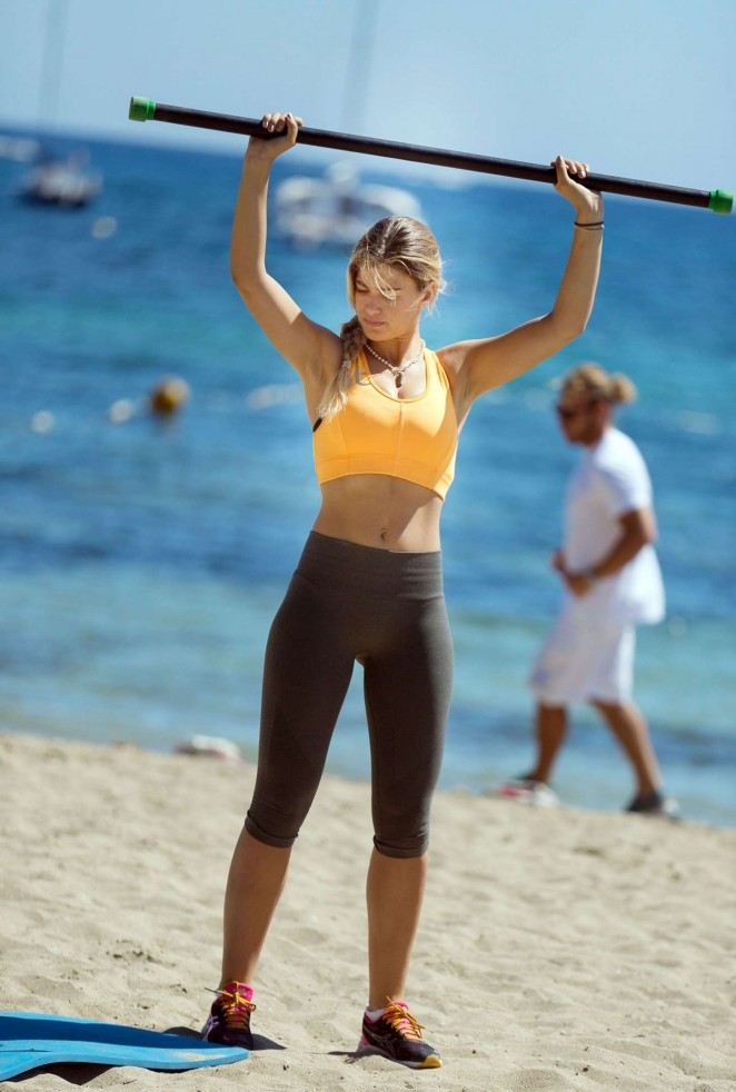 Amy Willerton in Tights -47