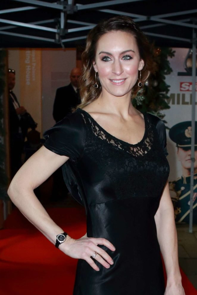Amy Williams - 2017 The Sun Military Awards in London