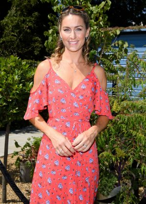 Amy Williams - Hampton Court Flower Show 2018 in London