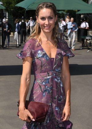Amy Williams - Wimbledon Tennis Championships in London