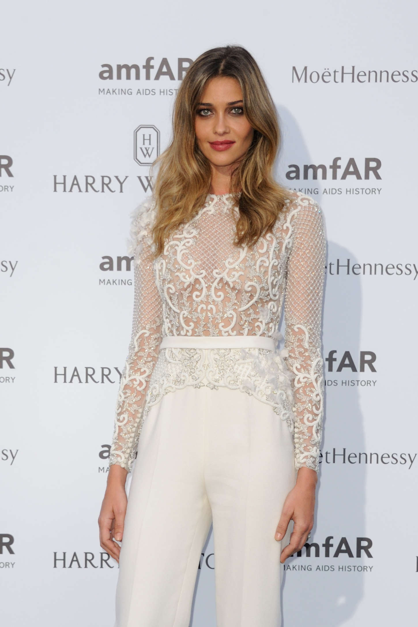 Ana Beatriz Barros - amfAR Dinner 2015 in Paris