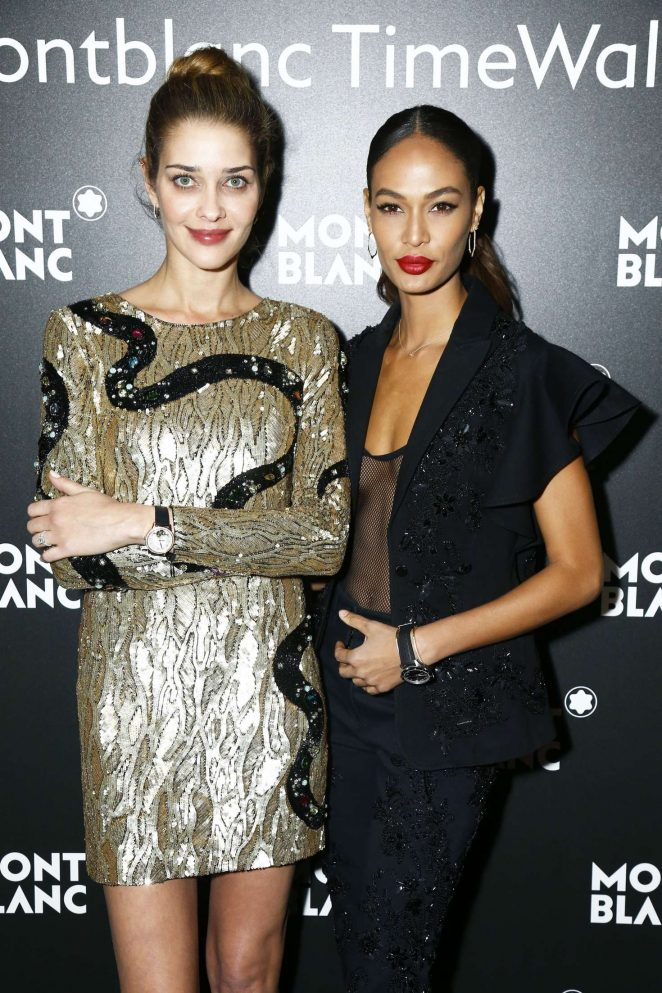Ana Beatriz Barros and Joan Smalls - Montblanc Gala Dinner at The SIHH in Geneva