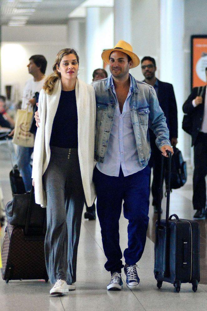 Ana Beatriz Barros and Karim El Chiaty get ready to fly high in Rio de Janeiro