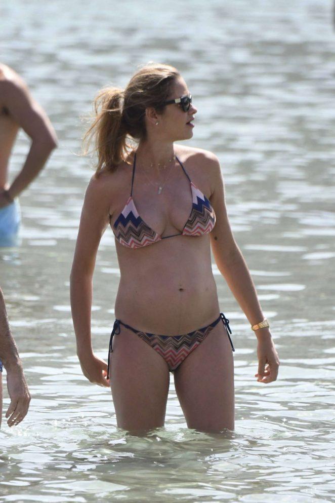 Ana Beatriz Barros in Bikini on holiday in Mykonos
