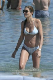 Ana Beatriz Barros in Bikini on the beach in Mykonos
