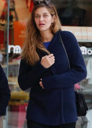 Ana Beatriz Barros out in Athens