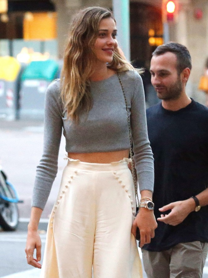 Ana Beatriz Barros out in Barcelona