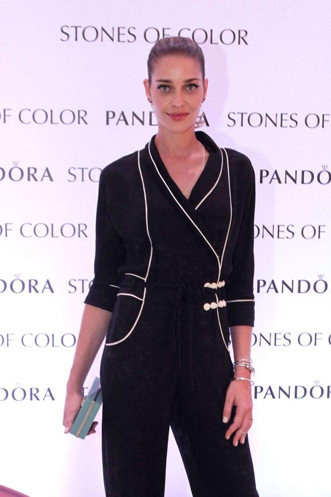 Ana Beatriz Barros - Pandora Stones of Color Jewelry Launch in Rio de Janeiro