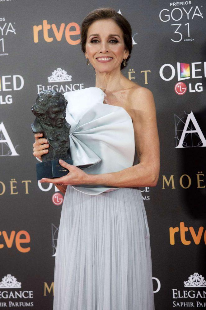 Ana Belen - Goya Cinema Awards 2017 in Madrid
