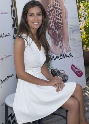 Ana Boyer - Presentation of the new collection by Ipanema in Madrid
