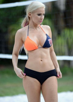 Ana Braga in Bikini in Miami