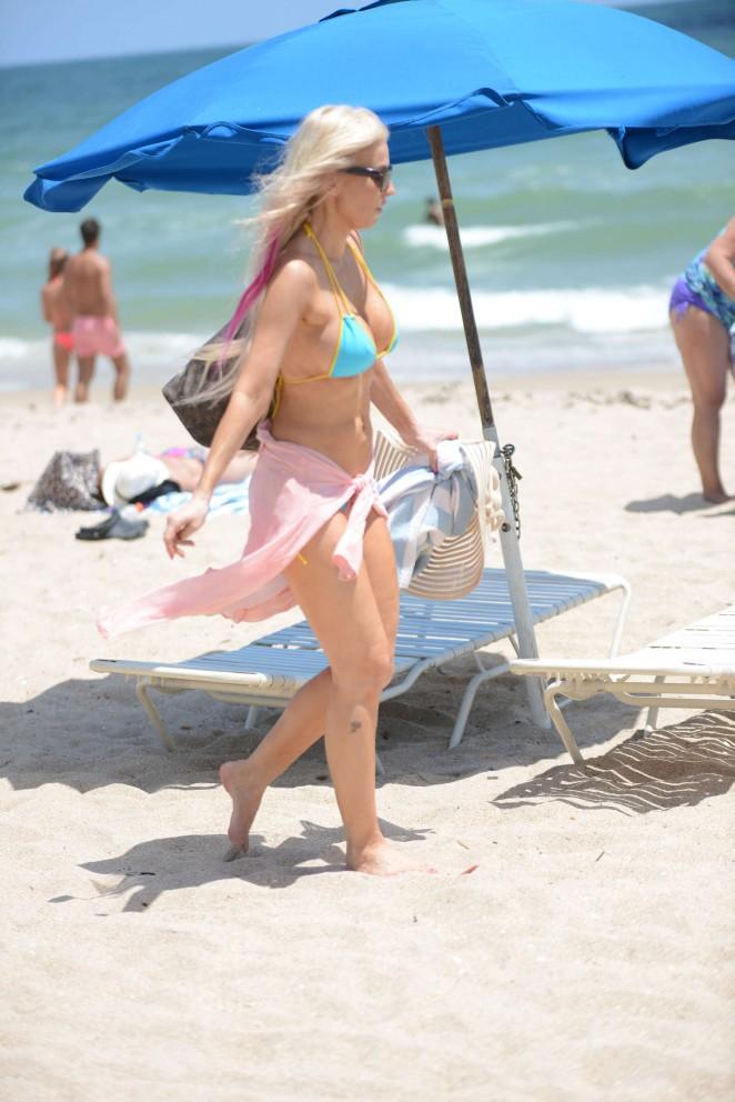 Ana Braga 2016 : Ana Braga in Tiny Blue Bikini -10