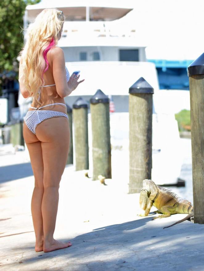 Ana Braga 2015 : Ana Braga in White Bikini -11