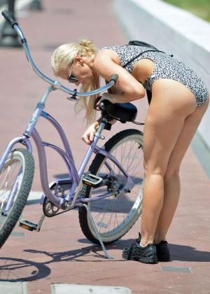 Ana Braga in Swimsuit -01