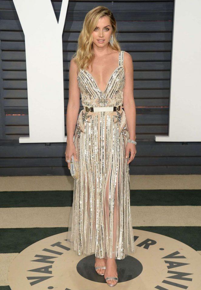Ana De Armas - 2017 Vanity Fair Oscar Party in Hollywood