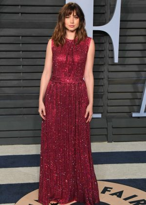 Ana De Armas - 2018 Vanity Fair Oscar Party in Hollywood