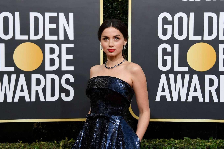 Ana De Armas Gq ana de armas - 2020 golden globe awards-05   gotceleb