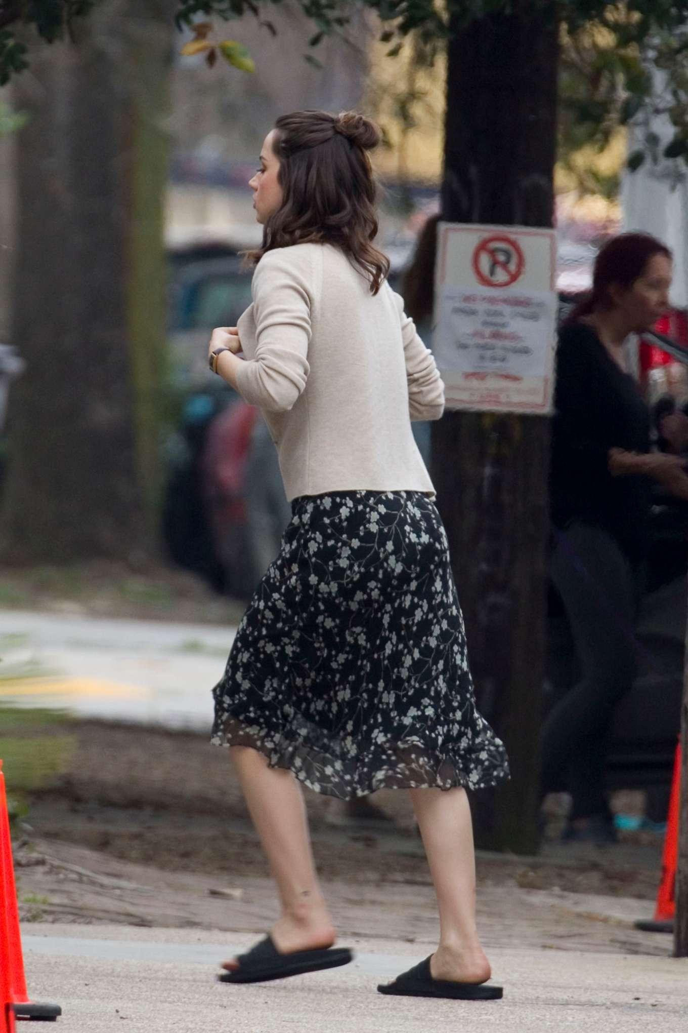 Ana de Armas 2020 : Ana De Armas and Ben Affleck – Filming Deep Water in New Orleans-08