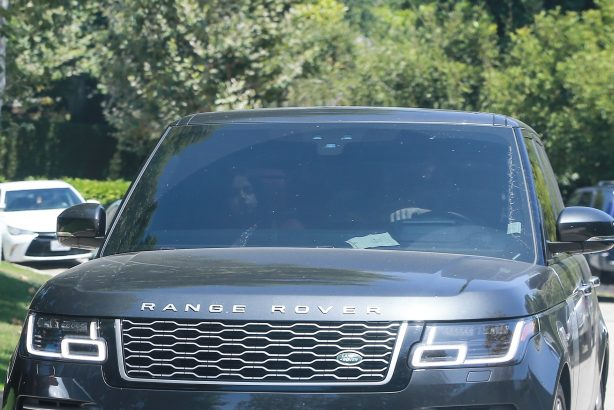 Ana De Armas and Ben Affleck - Out in Range Rover in Santa Monica