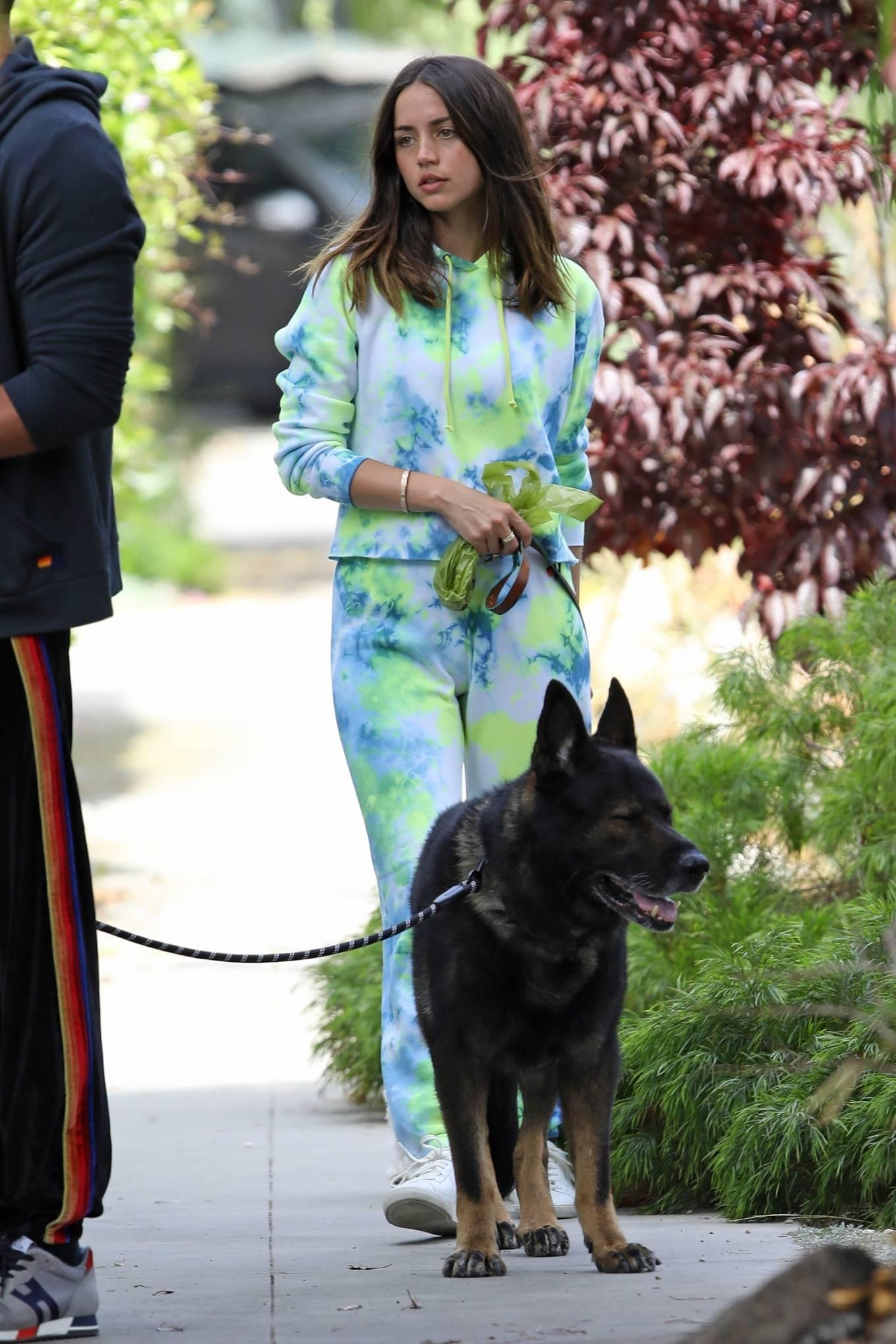 Ana de Armas 2020 : Ana De Armas and Ben Affleck – Taking their dogs for a stroll in Venice-26