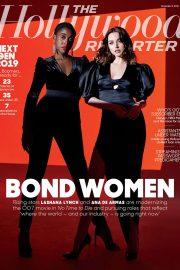 Ana de Armas and Lashana Lynch - The Hollywood Reporter Magazine (November 2019)