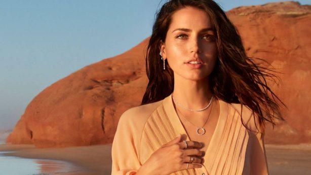 Ana de Armas - Collaborating with Natural Diamond Council 2020