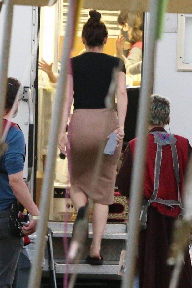 Ana de Armas - Filming 'Deep Water' in New Orleans