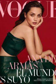 Ana de Armas for Vogue Espana Cover (April 2020)