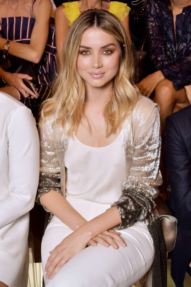 Ana de Armas - Giorgio Armani Fashion Show 2017 in Paris