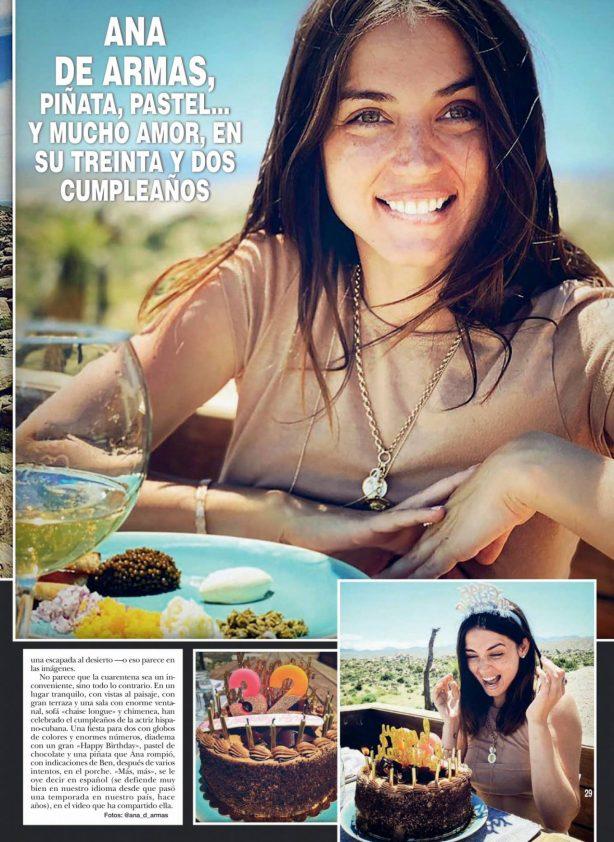 Ana De Armas - ¡Hola! Mexico Magazine (May 2020)