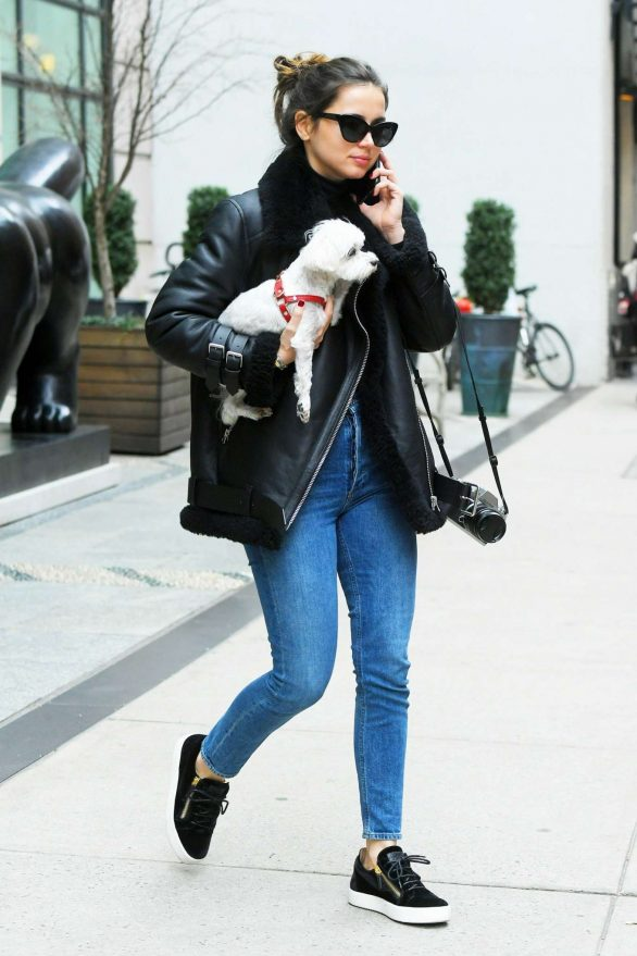 Ana de Armas - In Skinny Jeans out in New York City
