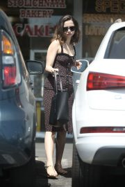Ana de Armas in Summer Dress - Out in Beverly Hills