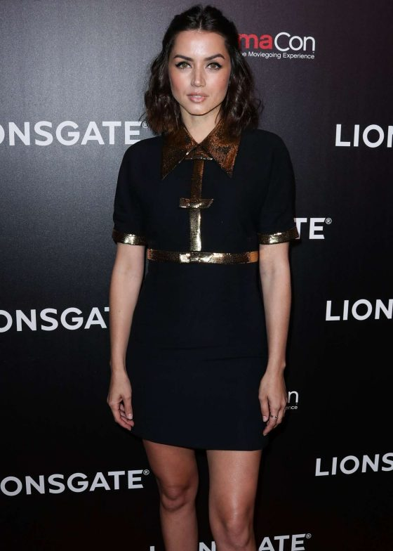Ana de Armas - Lionsgate Presentation & 'Long Shot' Screening at CinemaCon in Las Vegas