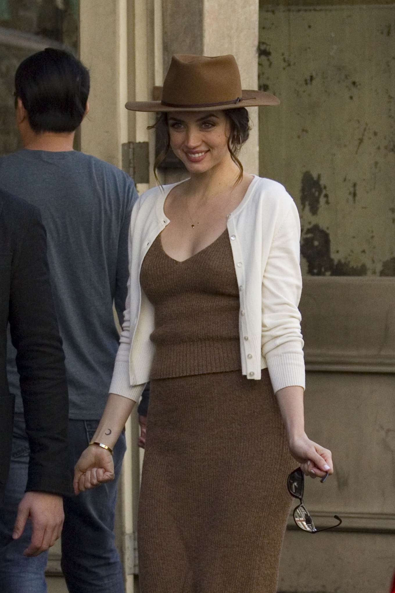 Ana De Armas - On the set of 'Deep Water' in New Orleans