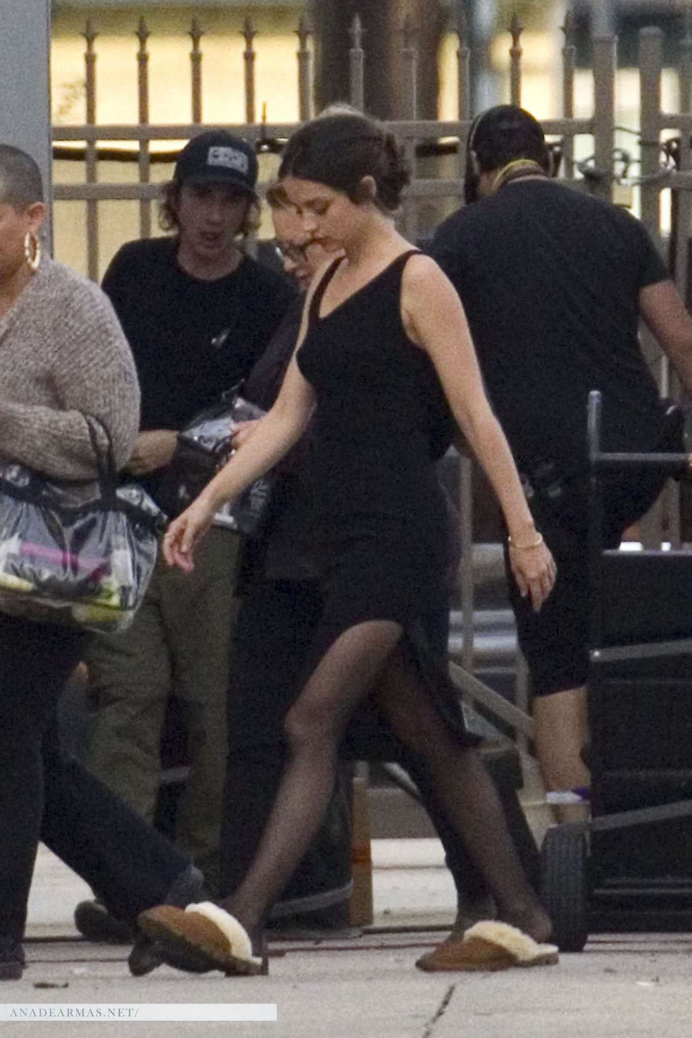 Ana De Armas on the set of 'Deep Water' in New Orleans